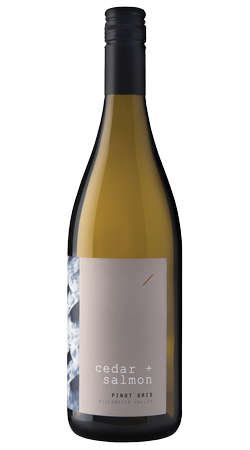 Cedar + Salmon 2019 Willamette Valley Pinot Gris
